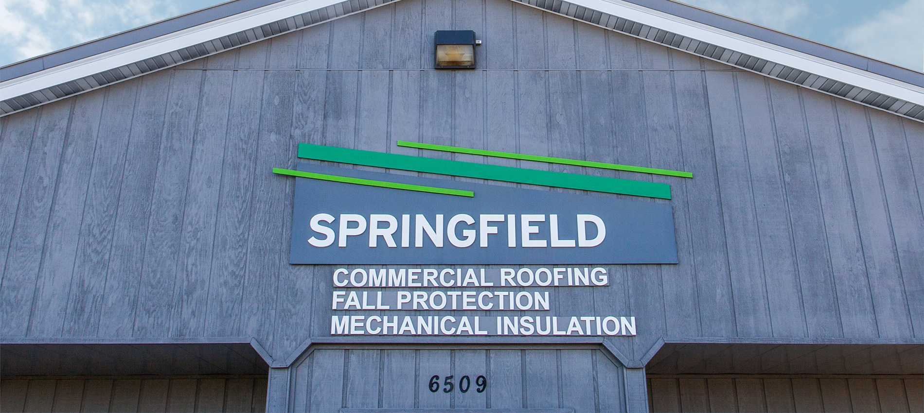 The Springfield family – Roofing, Mechanical Insulation, Fall Prevention, and Tiny Toddlers