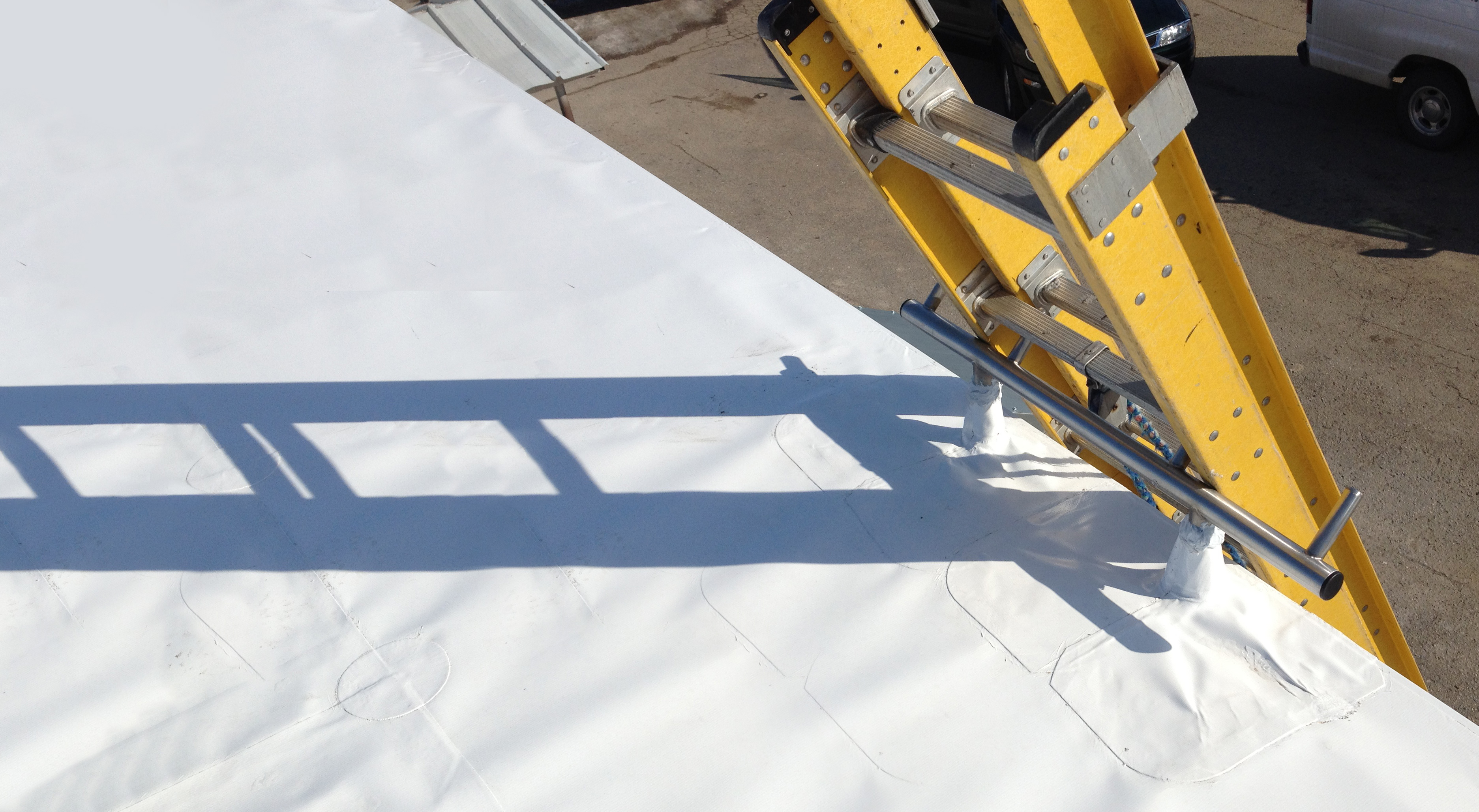 Safe Roof Access with Springfield Ladder Anchor