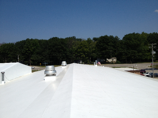 Springfield smart low sloped roof