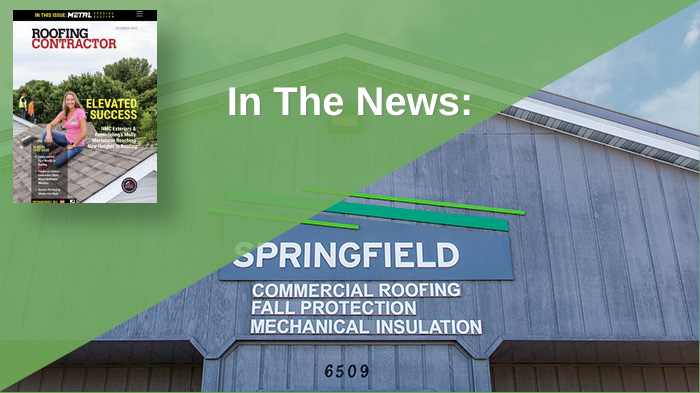 In The News: Roofing Contractor Magazine